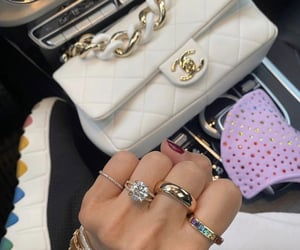 rings, chanel, and fashion image