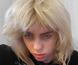aesthetic, blonde hair, and billie eilish image