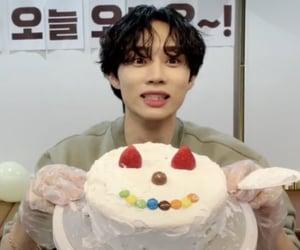 sunwoo, the boyz, and cake image
