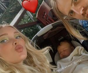 baby, elsa hosk, and love image