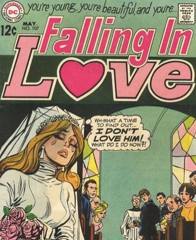 aesthetic, wedding, and comic image
