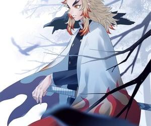 kimetsu no yaiba, anime, and handsome image