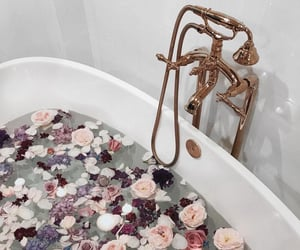 relaxing, bath, and fancy image