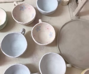 ceramics, handmade, and pottery image