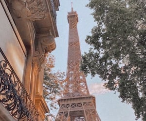 eiffel, france, and paris image