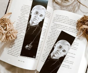 bookmark, draco malfoy, and etsy image
