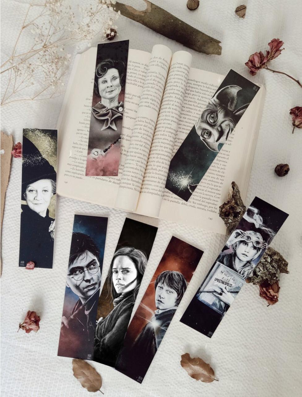 bookmark, luna lovegood, and ron weasley image
