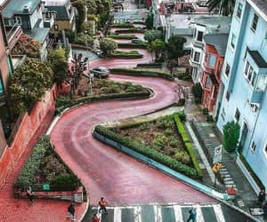 san francisco and lombard street image