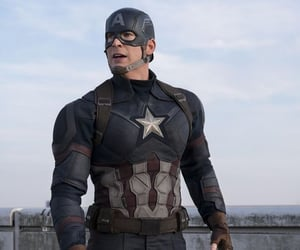 captain america, evans, and chris image