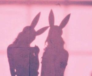 bff, bunny, and shadows image