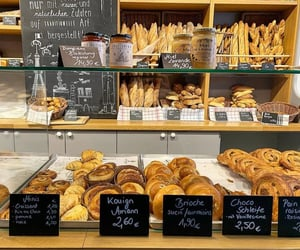 bakery, fashion, and food image