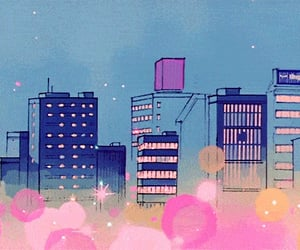 light, tokyo, and night image