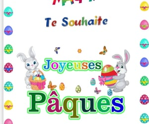dessins, paques, and lapins image