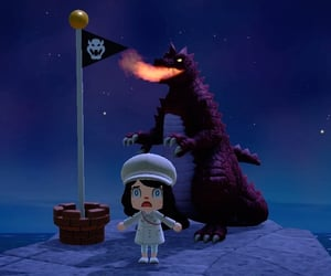 animal crossing, dragon, and switch image