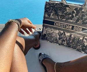 Christian Dior, watch, and holiday image