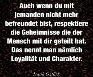deutsch, spruch, and loyalität image