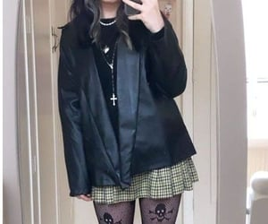 aesthetic, cyber, and goth image
