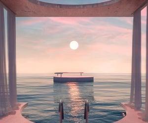 aesthetics, minimalism, and pool image