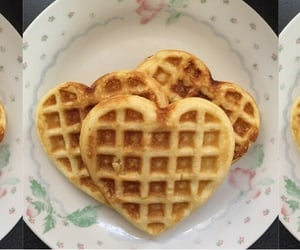 waffles, soft, and food image