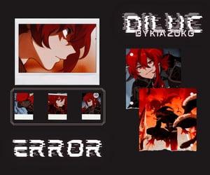 edit, glitch, and icon image