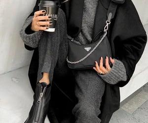 black, Prada, and style image