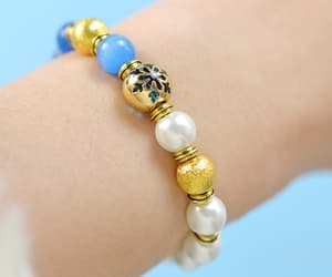 bracelet, pure, and pearl image