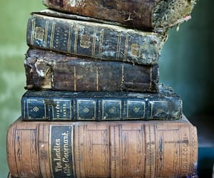 books, decaying, and decaying aesthetic image