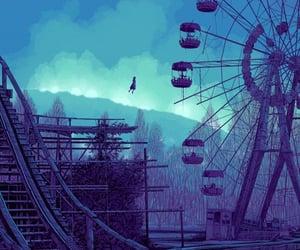 abandoned, amusement park, and Daniel Danger image