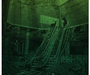 abandoned, creepy, and Daniel Danger image