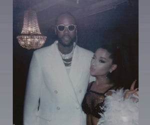 rule the world, ariana grande, and 2 chainz image