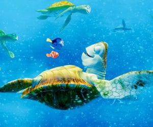 finding nemo, pixar, and disney image