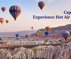 hot air balloon, travel tips, and travel guide image