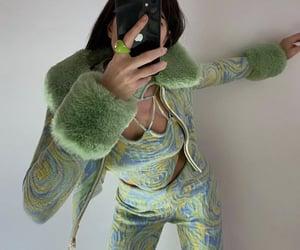 aesthetic, emerald, and fashion image