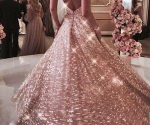 long dress, amazing, and lace image