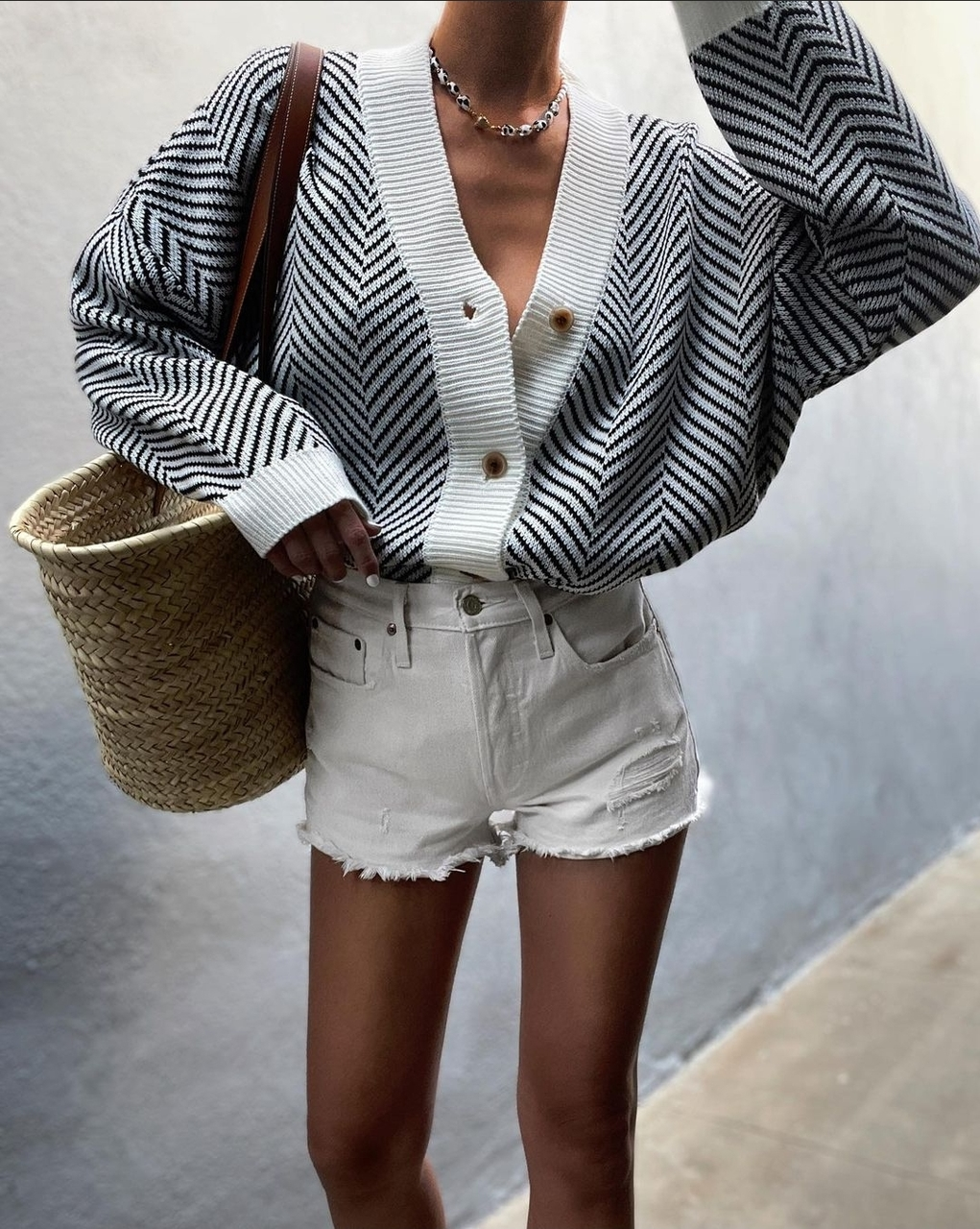 cardigan, fashion, and look image