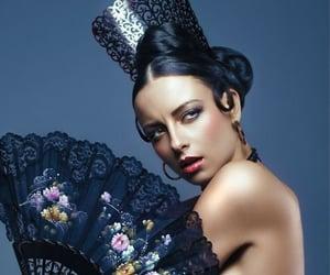flamenco, beautiful, and dancer image