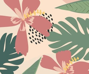 flowers, pattern, and art image