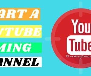 make money, youtube, and blogging image
