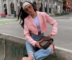 blogger, Louis Vuitton, and louis vuitton scarf hair image
