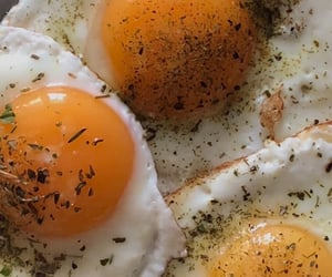 delicious, egg, and food image