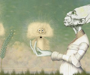cartoons, creatures, and surreal fantasy image