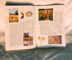 journal, picnic, and journaling image