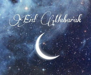 eid, islamic, and moon image