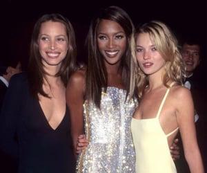 kate moss, Christy Turlington, and Naomi Campbell image