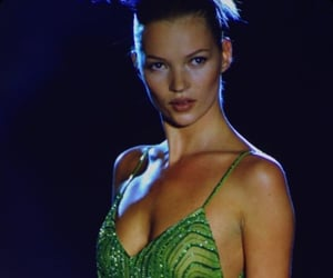 kate moss and Versace image