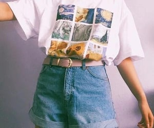 shirt, vincent van gogh, and vintage image