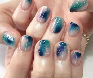design, nails, and acrylic nails image