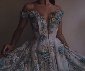 dress, gowns, and long dress image