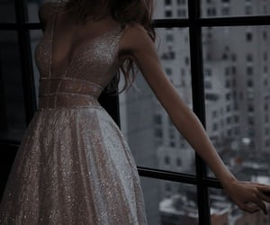 dress, party, and fashion image