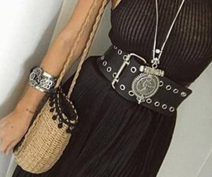 accessories, girl, and belt image